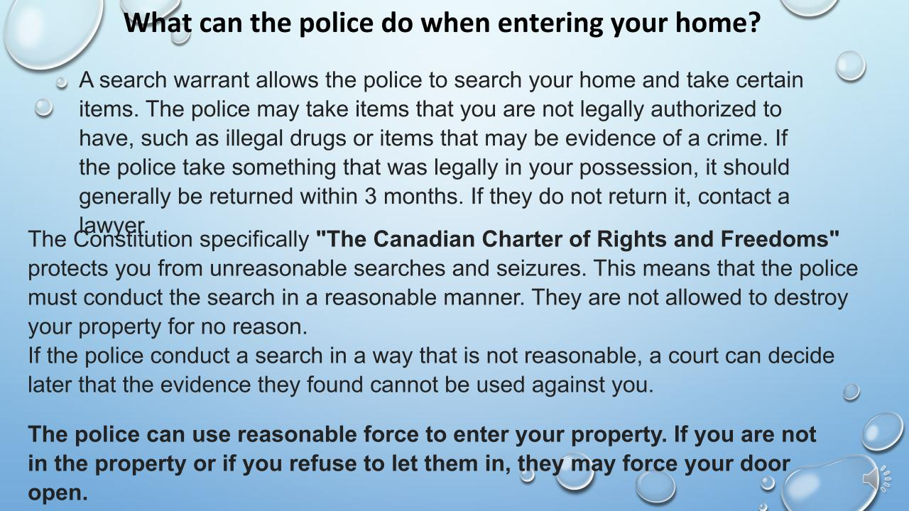 Your rights in Canada English07