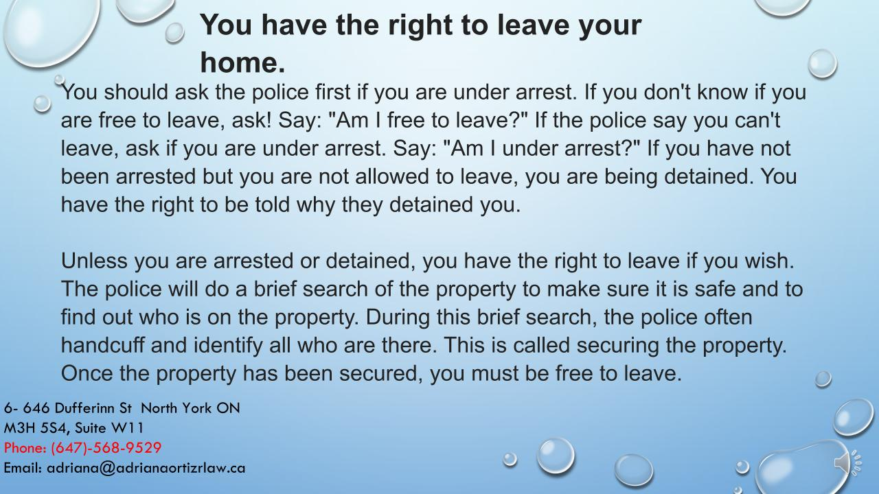 Your rights in Canada English09